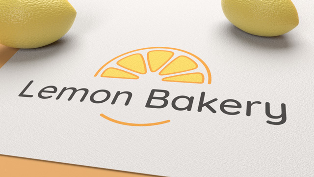 Lemon bakery- projekt logo